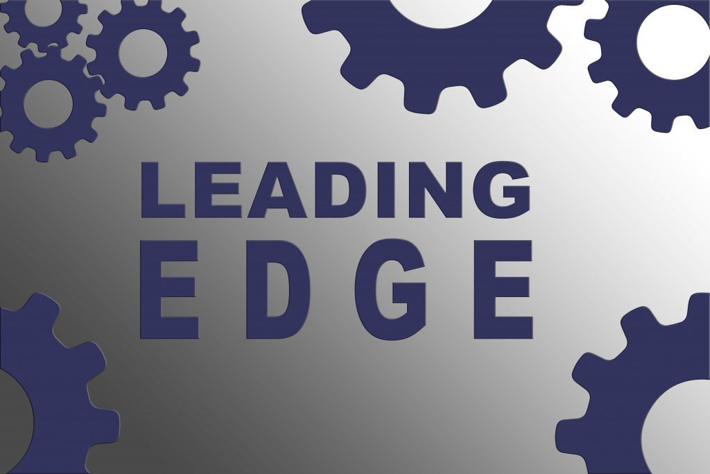 Leading Edge photo with gears