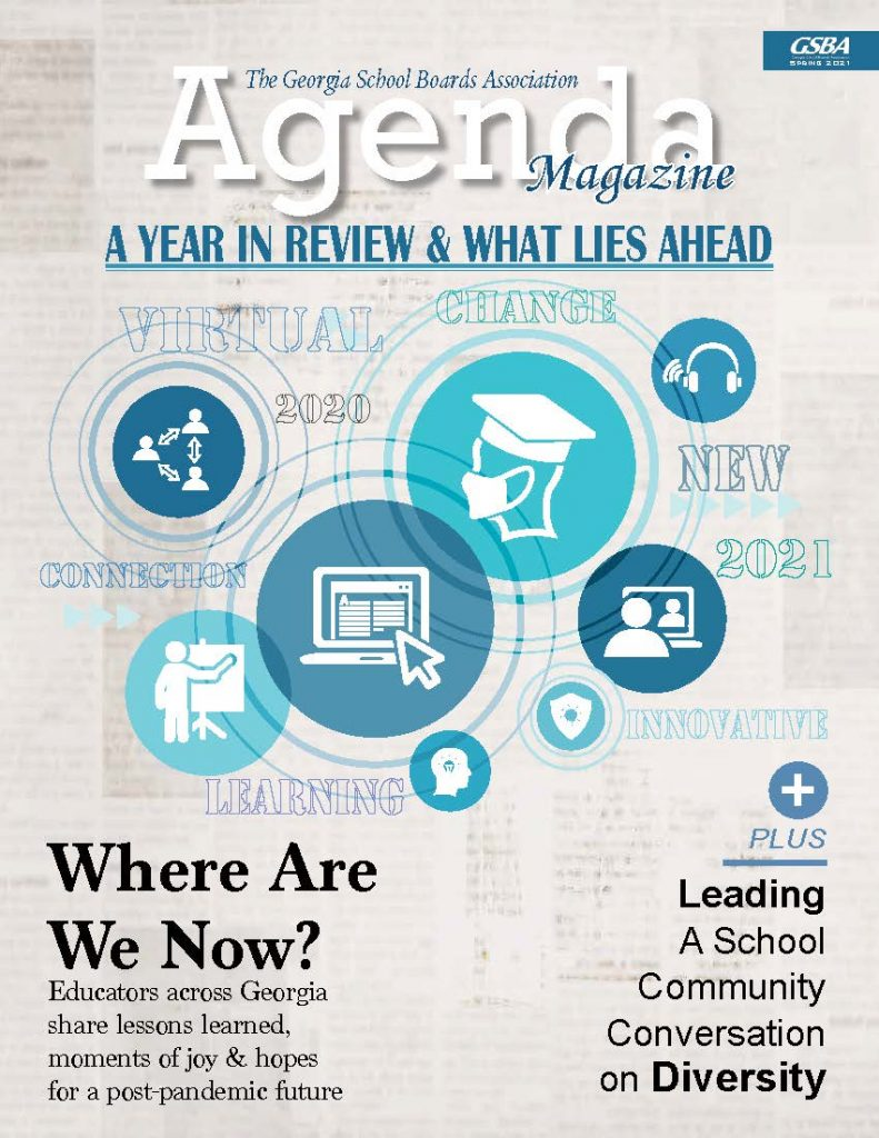 GSBA Spring 2021 Agenda Magazine Cover